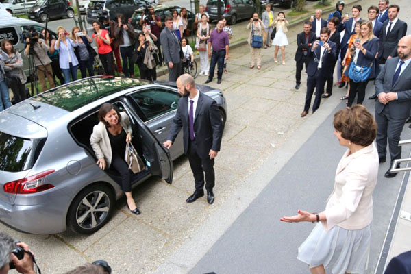 Nomination d'Agnès Buzyn