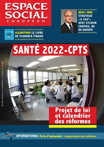 Espace social Européen couverture du n° 1142