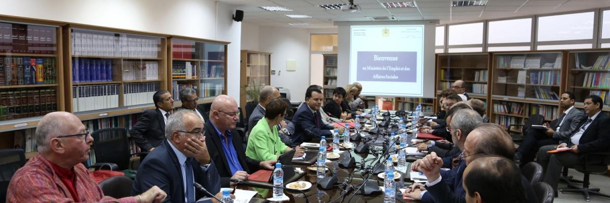 Séminaire Espace Social Européen au Maroc